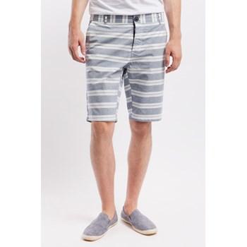 Pantaloni scurti barbati Medicine gri-alb