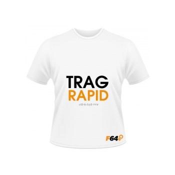 Tricou Trag Rapid Alb - S