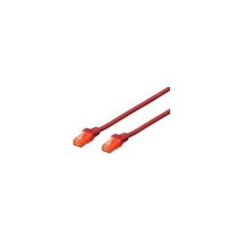 Cablu UTP Digitus Cat. 6 0.5m Rosu dk-1612-005/r
