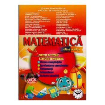 Matematica clasa a VII-a. Sinteze de teorie. Exercitii si probleme. Fixarea cunostiintelor. Aprofundare. Performanta. Au 9789736065170