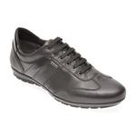 Pantofi GEOX negri, U44P2B, din piele naturala