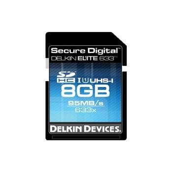 Delkin SDHC 8GB 633X UHS-I - card cu scriere 80MB/s