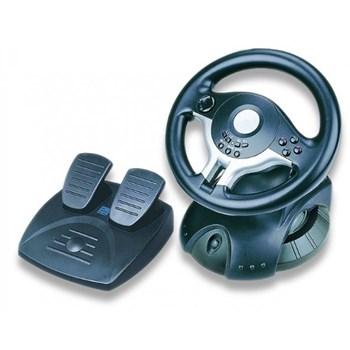 Volan cu pedale Gembird STR-RACEFORCE, dual vibration