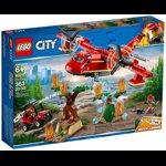 LEGO City Fire Avionul pompierilor 60217 pentru 6+ ani lego60217