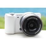 Aparat foto Mirrorless Sony A5100 alb + Obiectiv E SEL 16-50mm f/3.5-5.6 PZ OSS