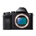 Aparat foto Mirrorless Sony A7 24.3 Mpx Full frame WiFi Black Body