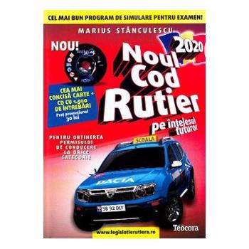 Noul Cod Rutier 2021 pe intelesul tuturor + CD - Marius Stanculescu