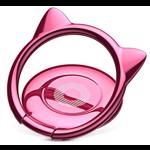 Suport Baseus Cat Ear Ring Bracket Pink