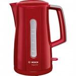 Fierbator Bosch TWK3A014, 2400 W, 1.7 l, Rosu