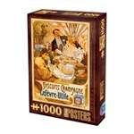 Puzzle 1000 Posteres - Biscuits Champagne