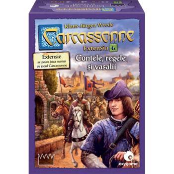 Carcassonne: Contele, Regele și Vasalii
